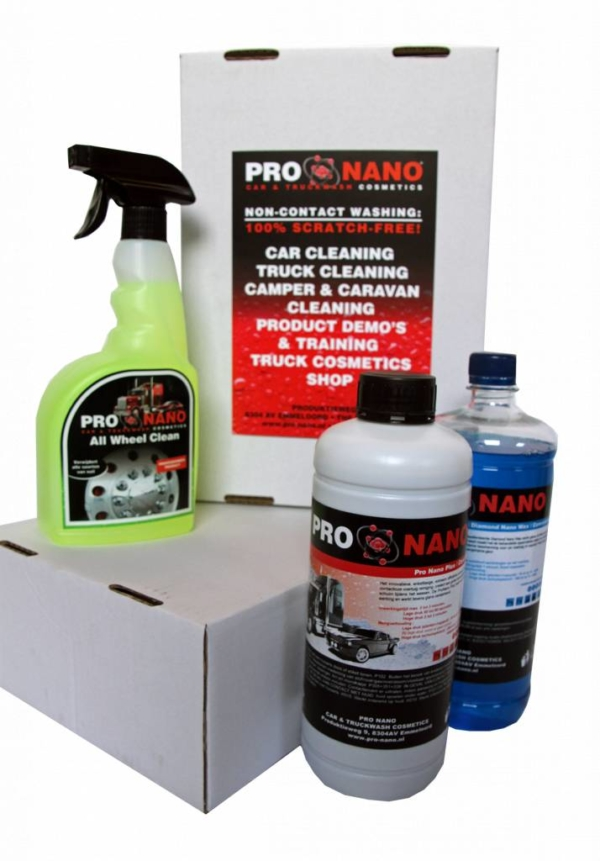 ProNano Nederland All Wheel Clean starterspakket